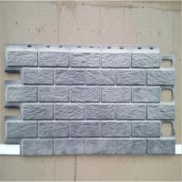 Faux Stone Brick Exterior Wall Panel Plastic Wall Siding