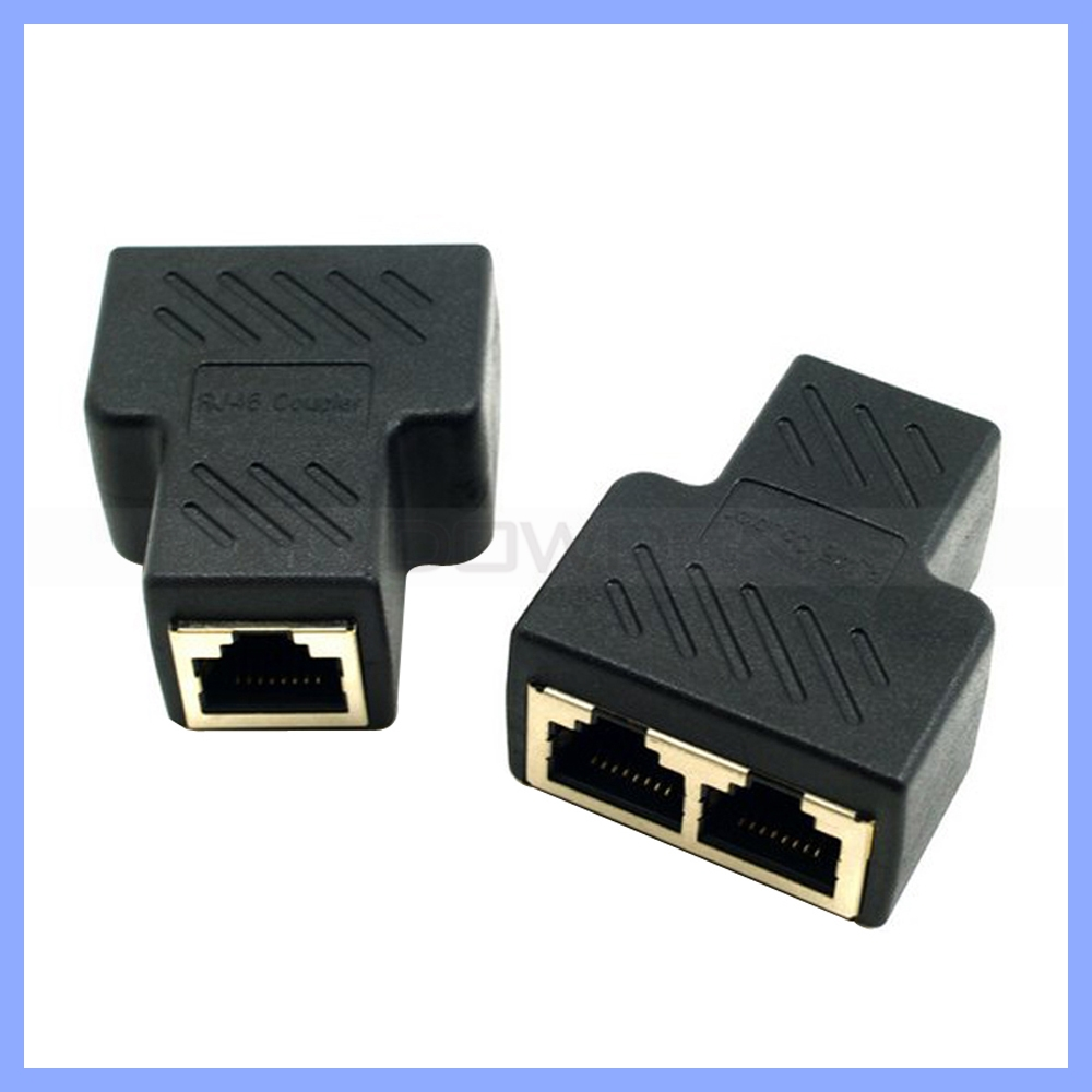medium resolution of network cable splitter 2 port pc rj45 splitter lan connector for 1000mbs internet buy lan connector rj45 splitter rj45 connector product on alibaba com