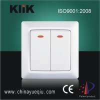 Modern Type Wall Switch With Led Indicator Light