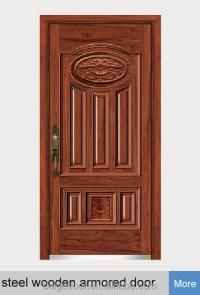 Bg-s9009 Baige Used Exterior Steel Doors For Sale/used ...