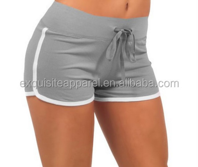 Custom Lycra Mini Shorts Sexy Girls Athletic Mini Shorts Women Wholesale Athletic Shorts
