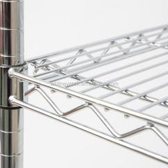 Metal Kitchen Rack Homemade Cabinets Stainless Steel Vegetable Racks Storage Fruit