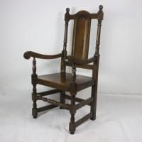 Solid Oak Dining Chair,Antique Carved Oak Chair,Wood ...