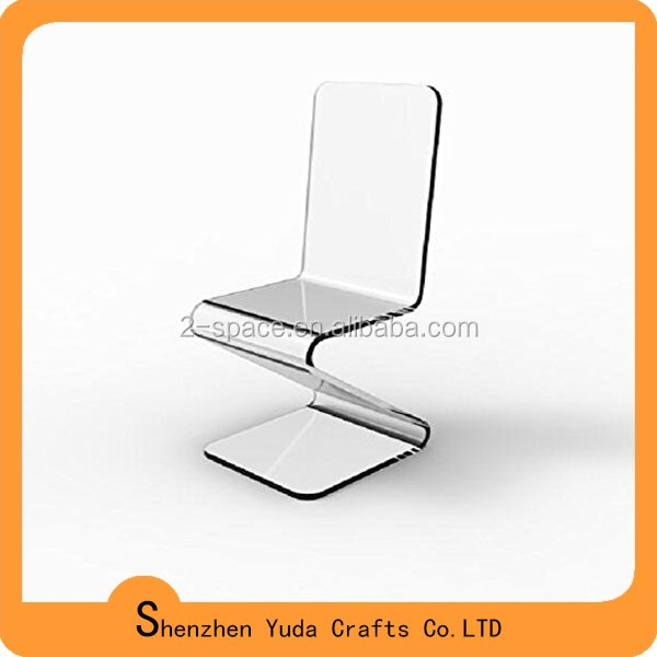 z shaped high chair wheel bed finished furniture clear acrylic holder