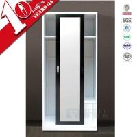 Bedroom Wardrobe Design In Sliding Door / Steel Frame ...