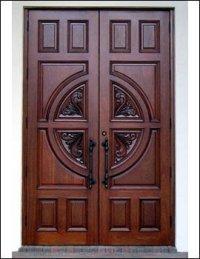 Big Doors-pintu Wood 011 - Buy Entry Doors Product on ...