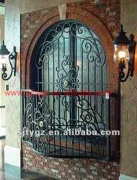 Wrought Iron Burglar Proof Window Grill Designs - Buy ...