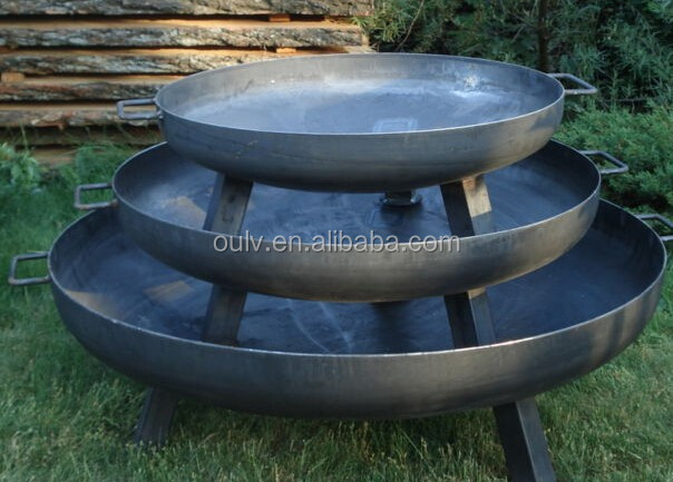 Wholesale Dia 60 80 90 100cm Outdoor Cast Iron Steel Fire