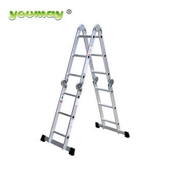 Gs /en 131 Big Hinges Multi-purpose Folding Step Ladder