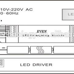 House Light Switch Wiring Diagram How To Read Diagrams Led Battery Kit With Inverter For Emergency Fluorescent Ni-mh Pack ...
