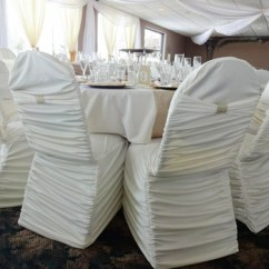 Ruched Spandex Chair Cover Loose Covers Australia White Cheap With Band Buy