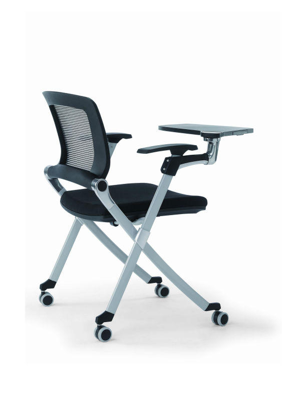 pp chair company spandex covers india office training chair/training with writing tablet/training room chairs pad ...