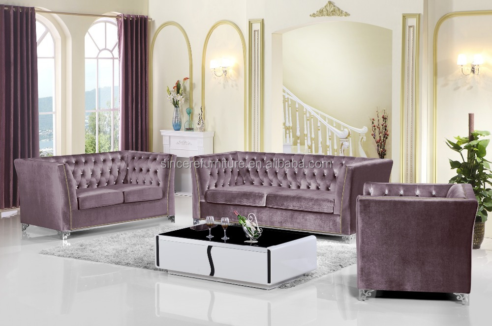 Stunning Salons Moderne En Velours Gallery  Awesome Interior Home  satellitedelightus