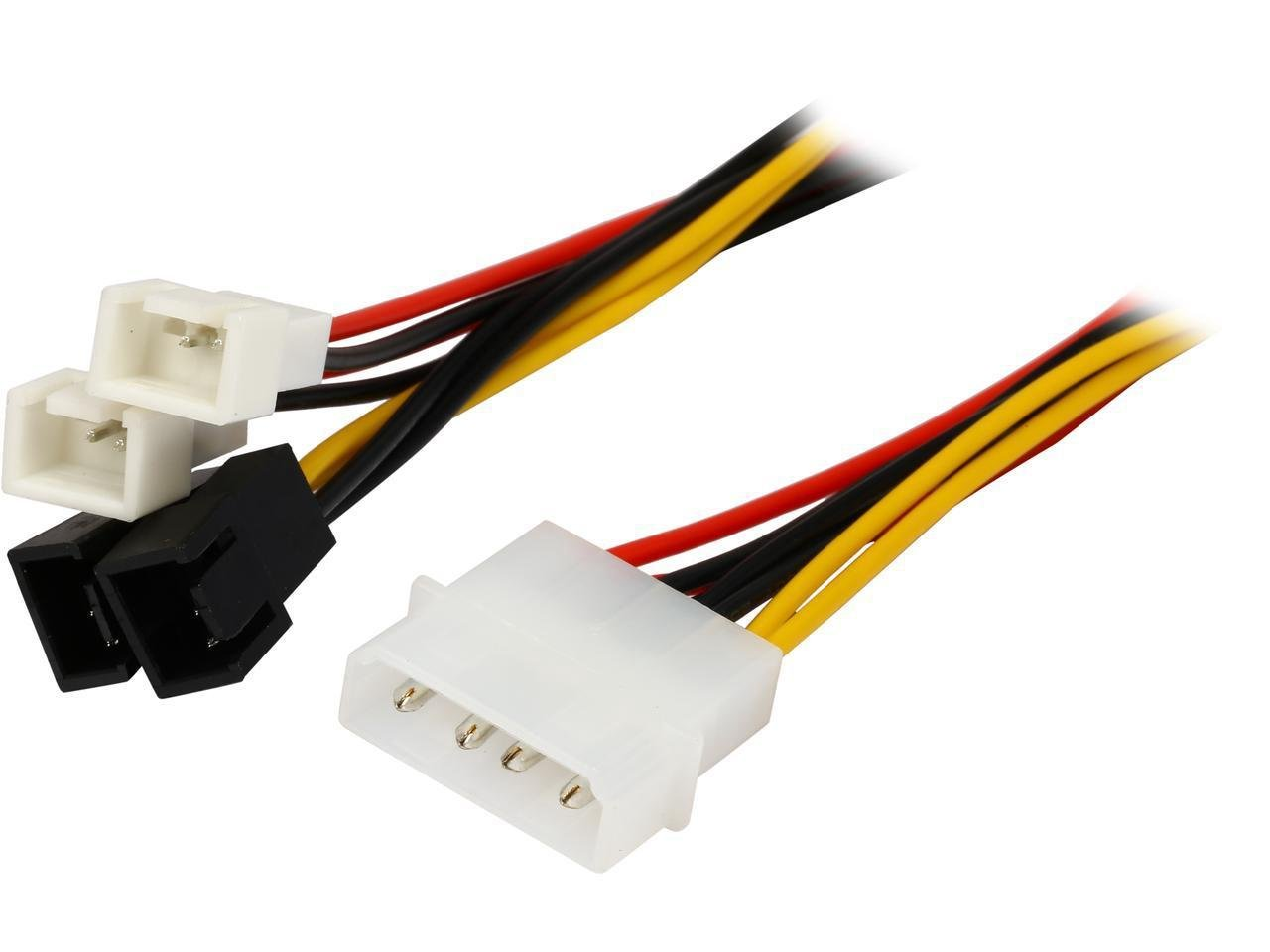 hight resolution of get quotations coboc lp44tx3 6 6 4 pin molex lp4 to 3 pin tx3