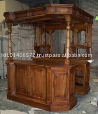Mini Bar Mahogany Indoor Furniture, View Bar, Farrel ...