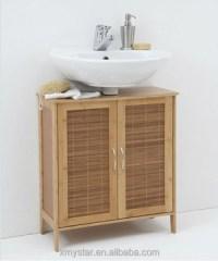 Natual Bamboo Bathroom Cabinet Bamboo Storage Cabinet ...