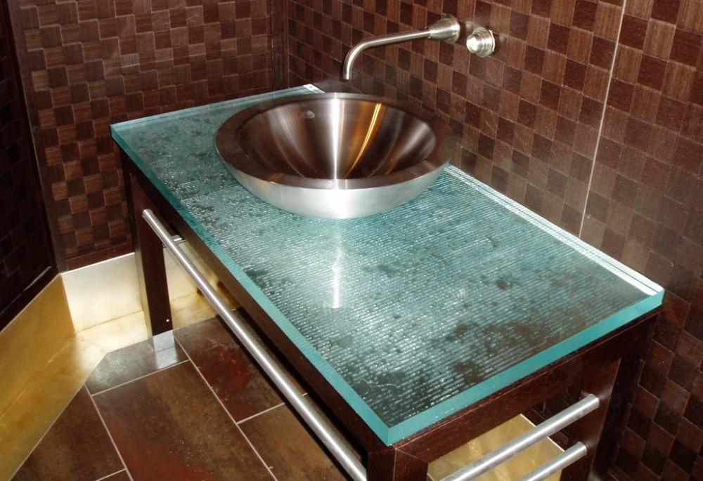 Granite Kitchen Translucent Glass Countertops  Buy