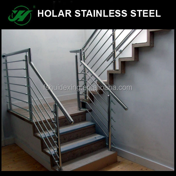 Hairline Stainless Steel Portable Stair Railings Buy Portable Stair   Steel Railing For Steps   Modular   Wooden   Terrace   Modern Farmhouse   Loha
