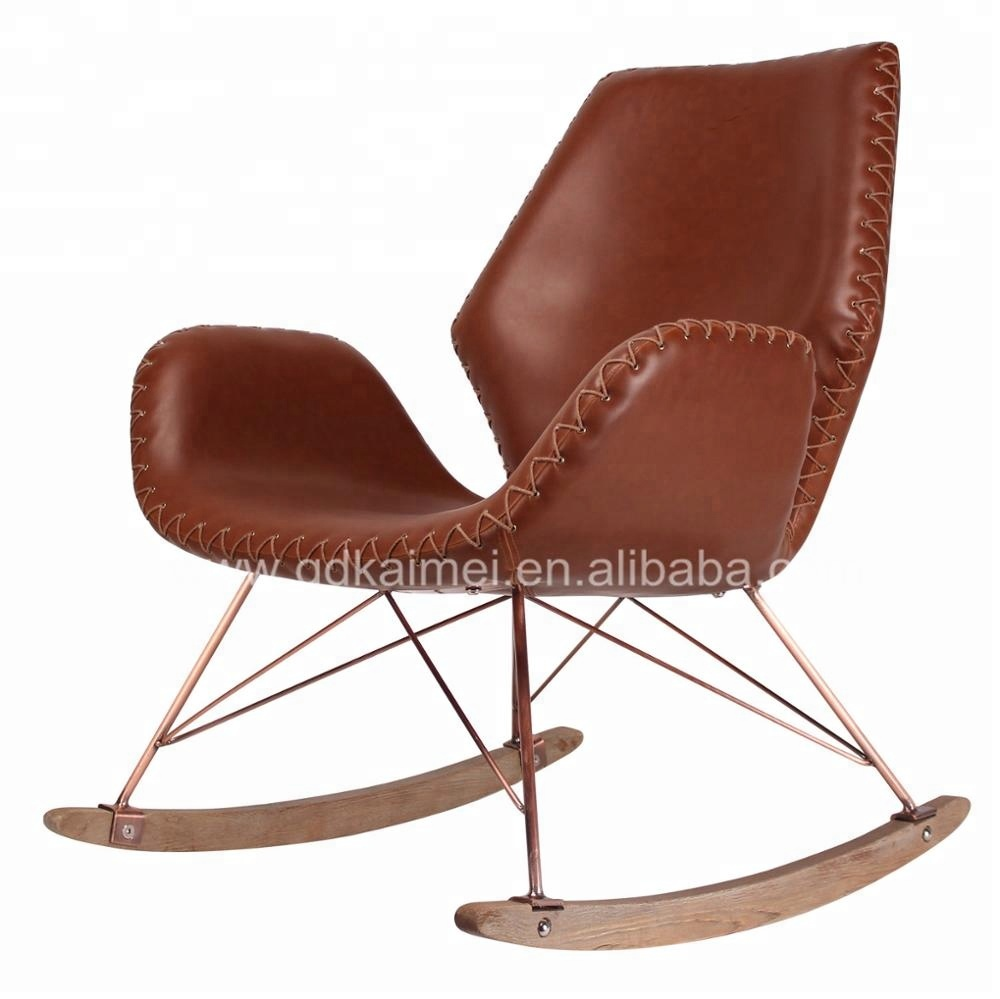 Leather Rocking Chair New Product Leather Rocking Chair Metal Rocking Chair For Home Used Buy Rocking Chair Leather Rocking Chair Metal Rocking Chair Product On