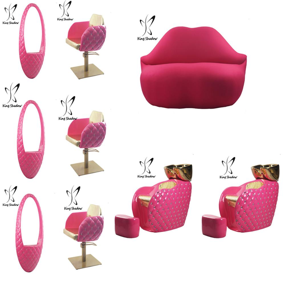 chair covers pink stools with arms barber hot salon chairs set for sale buy