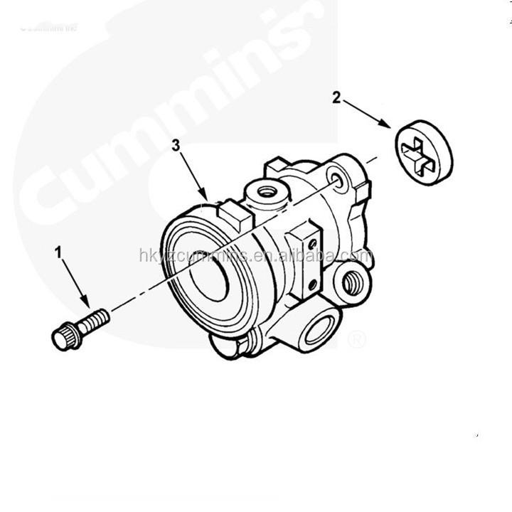 Genuine Usa Industrial Generators 4891342 Pump Hydraulic