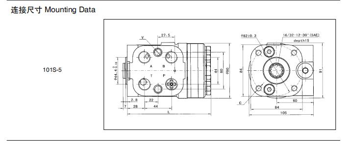 Wa320-3 Metering Pump Wheel Loader Hydraulic Power