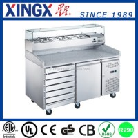 Pizza Prep Table With Refrigerated Topping Unit_gx ...