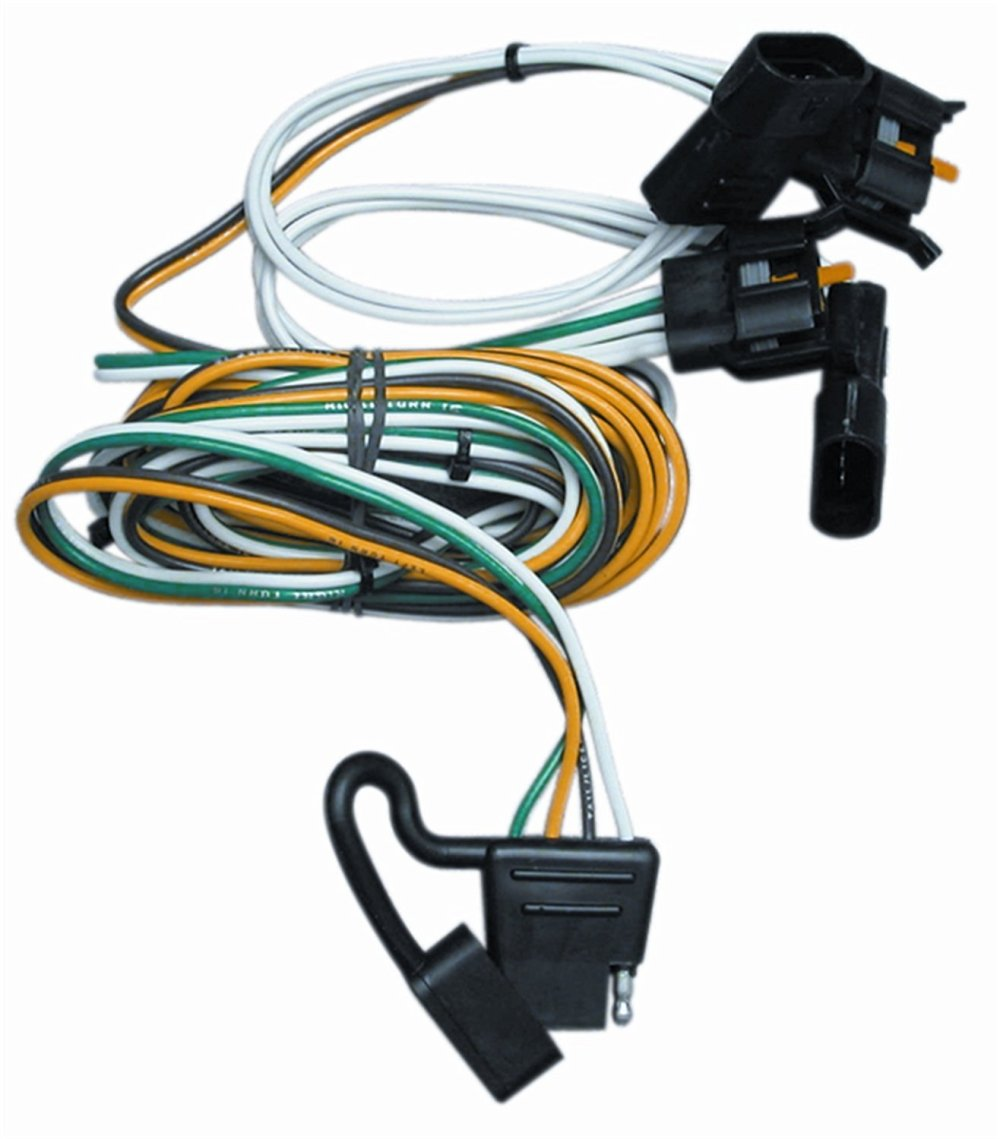 medium resolution of trailer wiring 95 03 ford e 150 e 250 e 350 van 00 03 excursion 97 99 escort