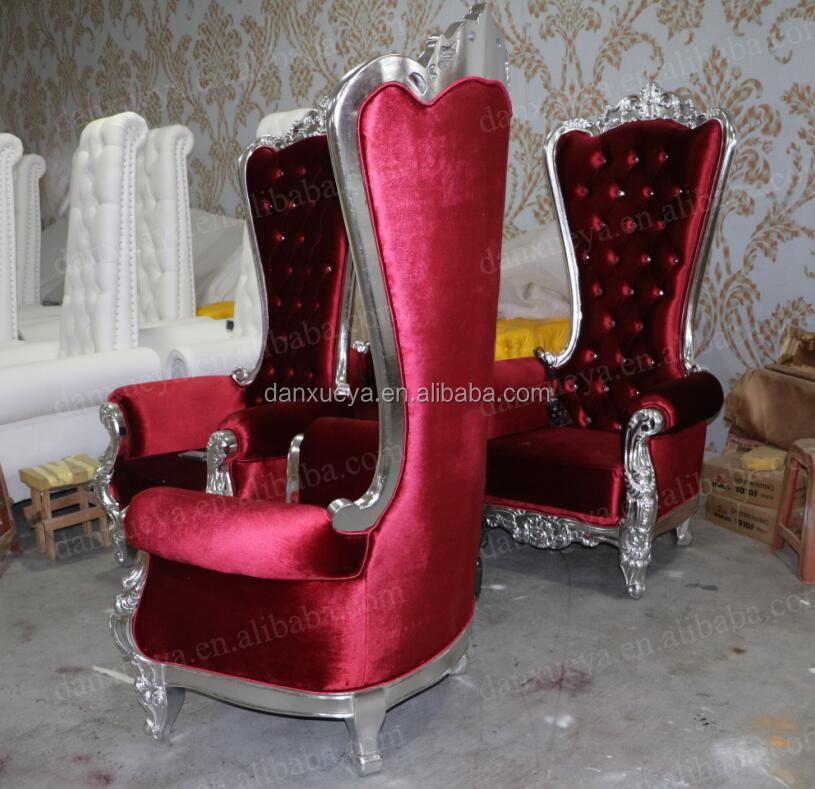 alibaba royal chairs linen dining room danxueya wholesale high end queen throne chair buy