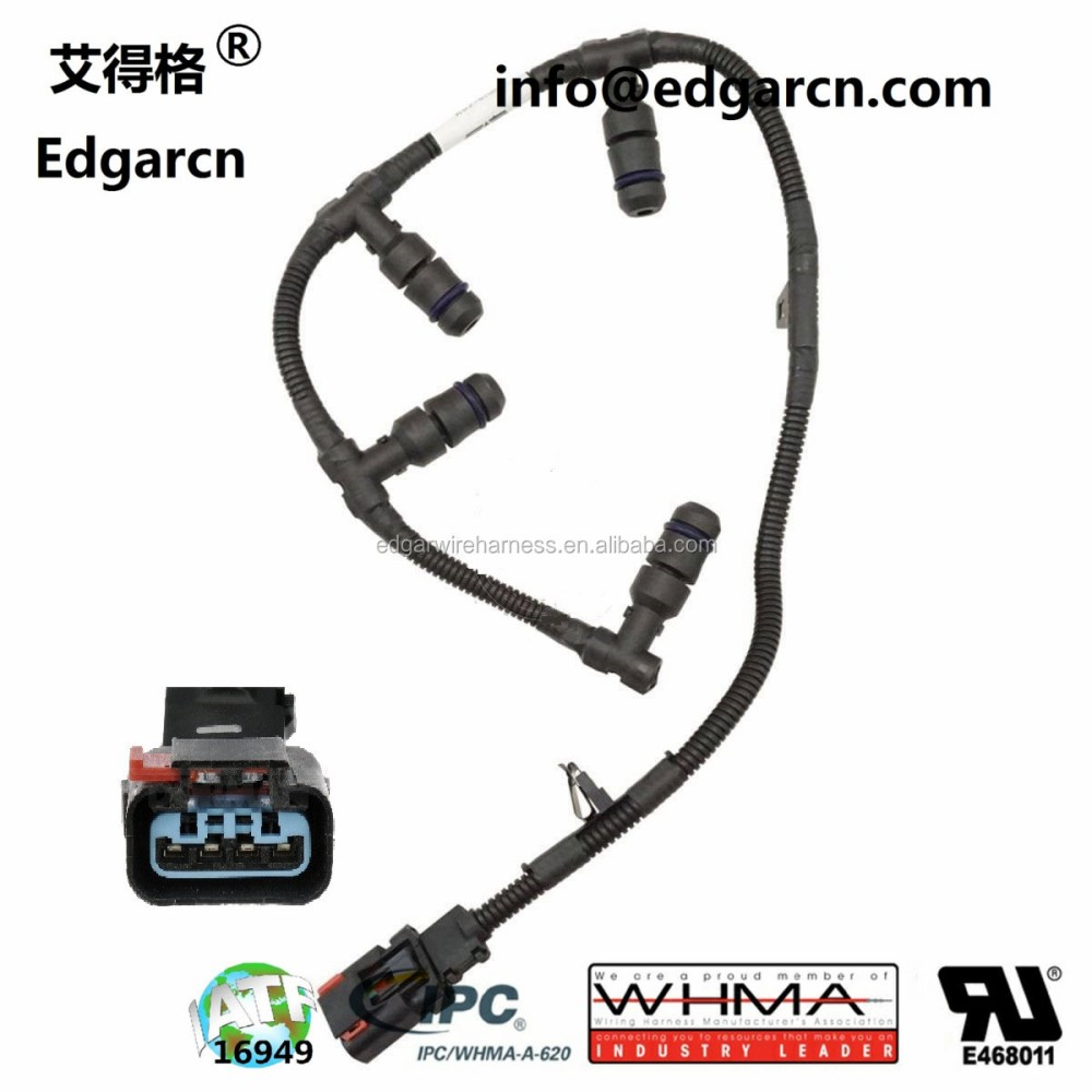 medium resolution of valve cover glow plug pigtail wire harness for ford powerstroke 7 3l