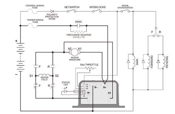 Curtis 1204 Controller Wiring Diagram : 37 Wiring Diagram