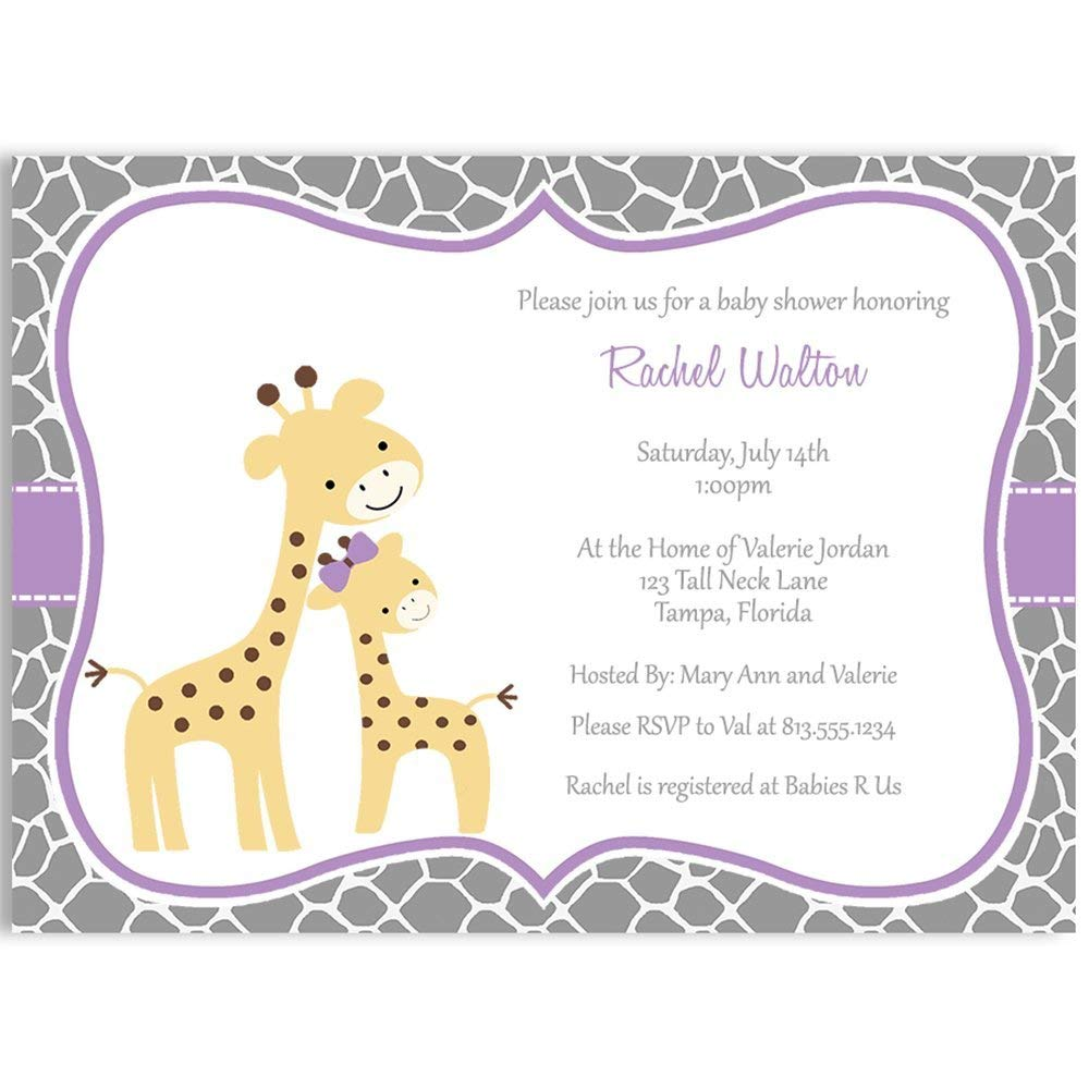 Cheap Fall Baby Shower Invitations