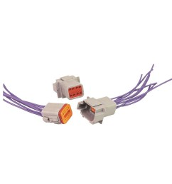 dt06 2s e004 8 pin deutsch dt connector male and female wiring harness [ 1000 x 1000 Pixel ]