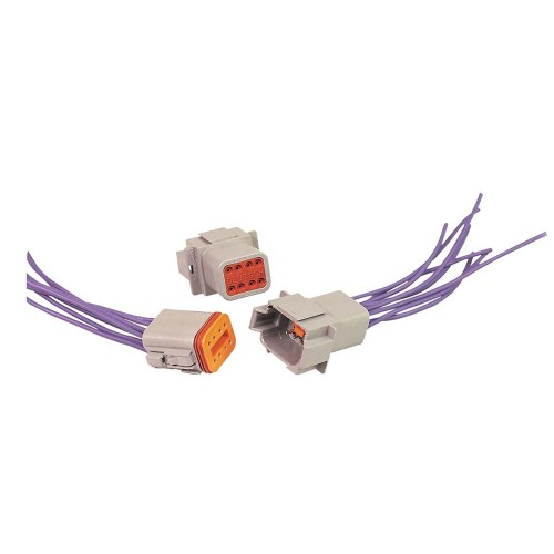 small resolution of dt06 2s e004 8 pin deutsch dt connector male and female wiring harness