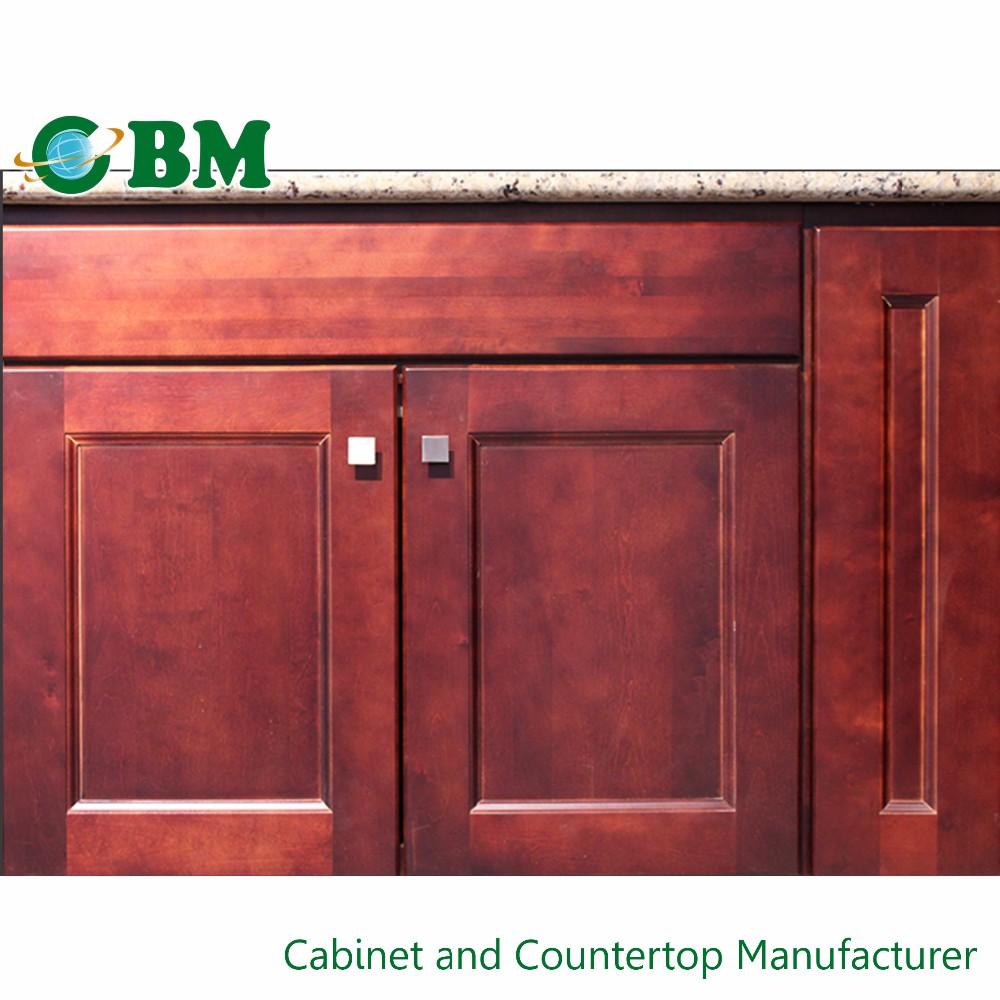 Marble Customize Finished Paint Kitchen Cabinet Doors Only