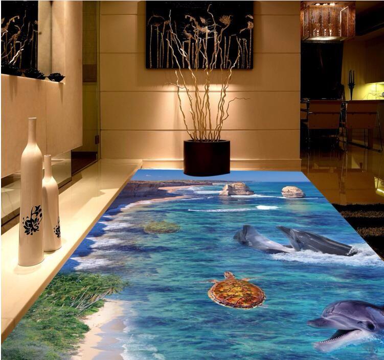 Club Spy Camera Floor Wallpaper Mural 3d Tiles For Bathroom Floor Living Room 3d Tiles For