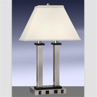 Lowest Price Usa Cul Power Outlet Table Lamp With Usb