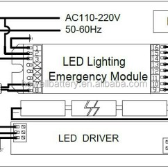 Non Maintained Emergency Lighting Wiring Diagram Bmw Diagrams 2.64w Led Strip Module / Fluorescent Light With Battery Backup - Buy ...