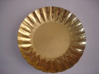 Celebration Disposable Paper Charger Gold Plates - Buy ...