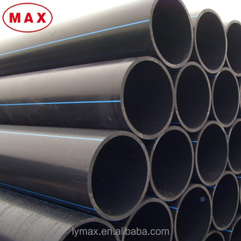 Diameter 10 Inch Hdpe Pipe /pe100 Grade Flexible Drain