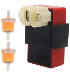 get quotations 6 pin ac cdi box fuel filters for gy6 50cc 150cc 152qmi 157qmj chinese tao tao [ 1000 x 1000 Pixel ]