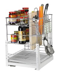 New Design Good Quality Pull Out Basket Kitchen Cabinet ...