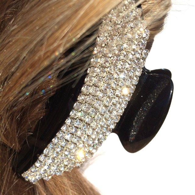 buy queenmee moon crystal hair clip rhinestone hair claw