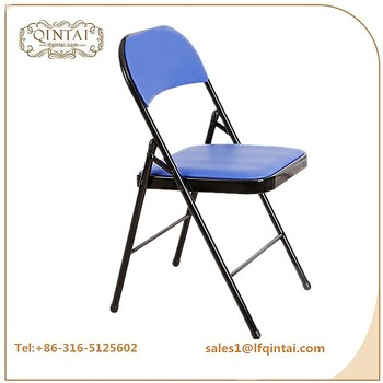 folding chairs for sale ergonomic standing chair wholesale cheap iron cushion metal buy