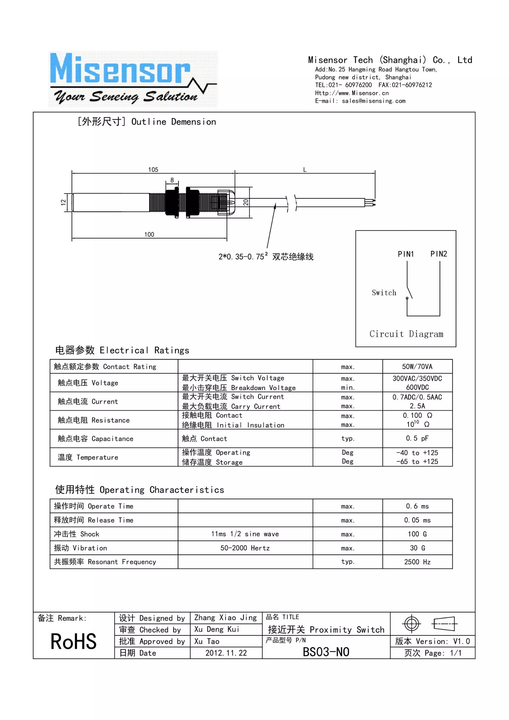 hight resolution of elevator magnetic reed switch limit switch