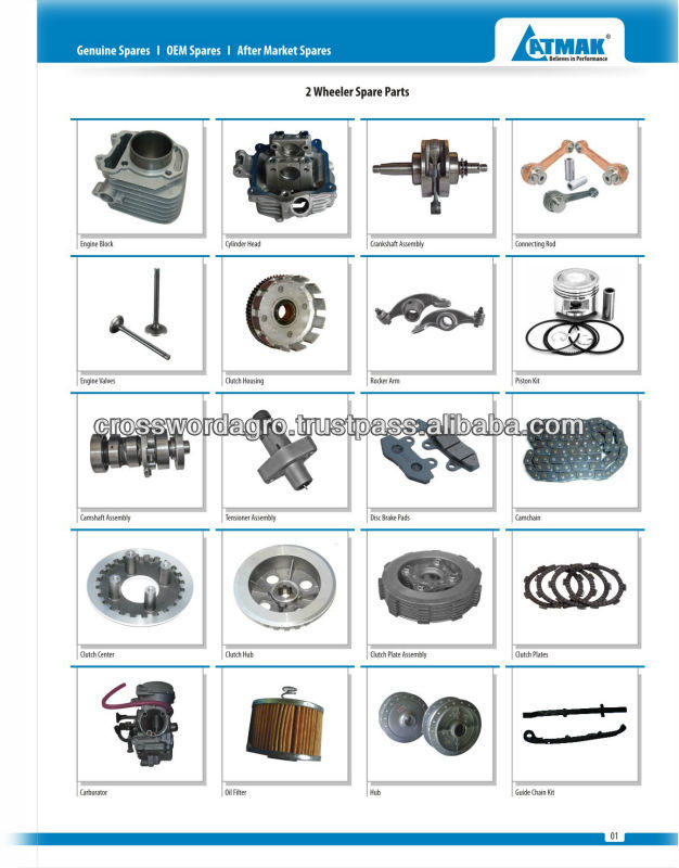 Motorcycle Spare Parts Bajaj Platina 125 Supplieranufacturers At Alibaba Com