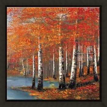 autumn tree scenery wood