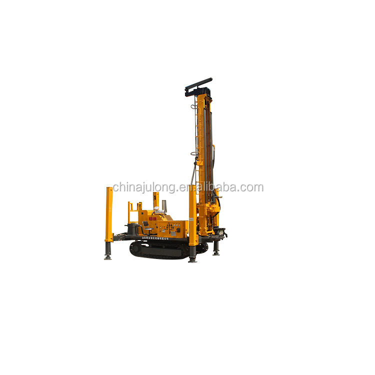 Eco-friendly Crawler Mounted Deep Water Well Drilling Rig