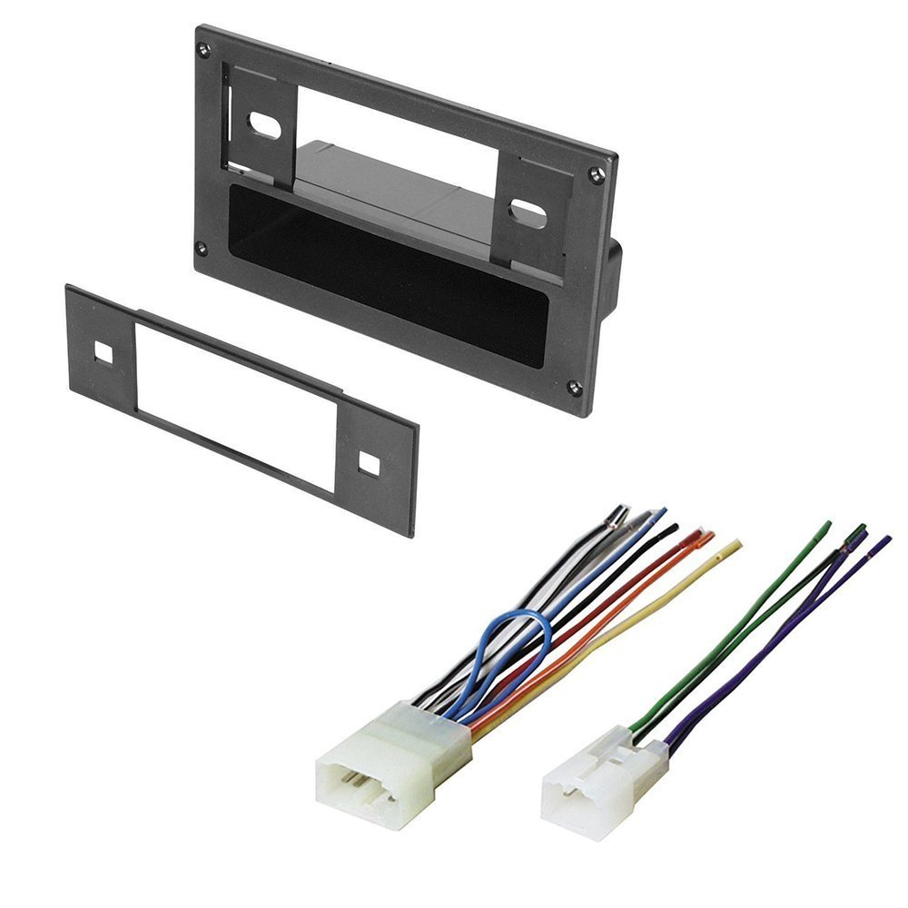 hight resolution of get quotations scion 2004 2006 xa car stereo radio dash installation mounting kit w cheap wiring harness