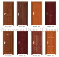 Nigeria Mdf Wooden Door Price / Bathroom Pvc Door With